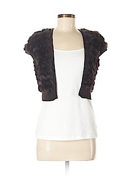BCBGMAXAZRIA Faux Fur Vest Size M