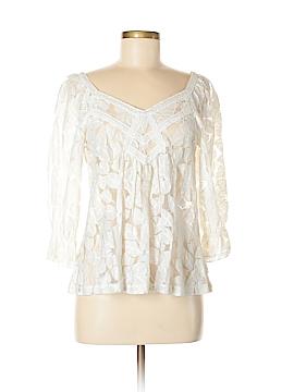 Gracia 3/4 Sleeve Blouse Size L