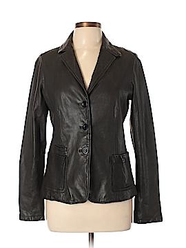 Vince. Leather Jacket Size 10