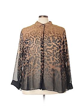 Lane Bryant Long Sleeve Blouse Size 26 (Plus)