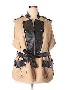 Pamela McCoy Vest Size 3X (Plus)