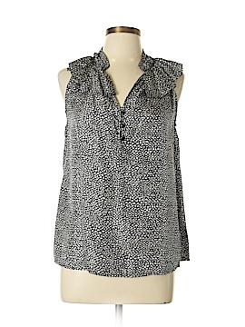 Cynthia Rowley for T.J. Maxx Sleeveless Silk Top Size L