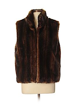 Valerie Stevens Faux Fur Jacket Size XL