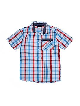 Columbia Short Sleeve Button-Down Shirt Size 10 - 12