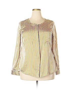 Dana Buchman Long Sleeve Blouse Size 16