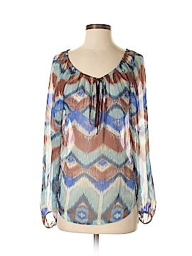 Fifteen Twenty Long Sleeve Silk Top Size S