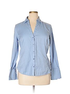 Ann Taylor Factory Long Sleeve Button-Down Shirt Size 16