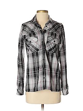 Guess Long Sleeve Button-Down Shirt Size XS
