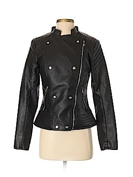 Jessica Simpson Faux Leather Jacket Size S