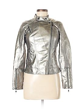 CARMiN Women Faux Leather Jacket Size S