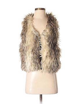 Naven Faux Fur Vest Size S