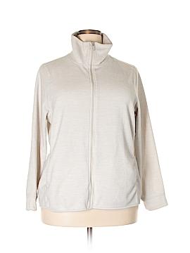 New York & Company Fleece Size 2X (Plus)