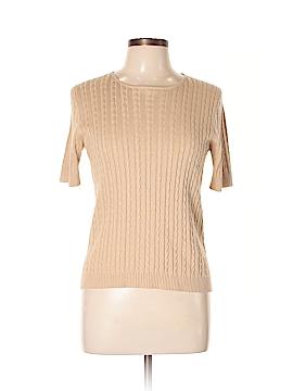 Sutton Studio Short Sleeve Silk Top Size L
