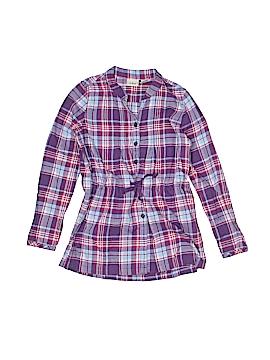 L.L.Bean Long Sleeve Button-Down Shirt Size 8