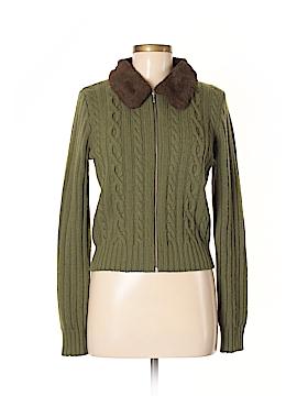 Sisley Wool Cardigan Size M