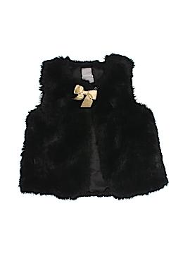 Tahari Faux Fur Vest Size 4T