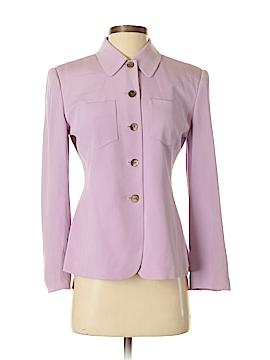 Petite Sophisticate Silk Blazer Size 2