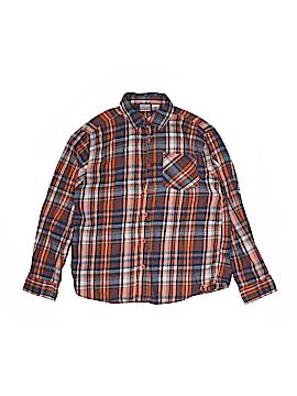 Canyon River Blues Long Sleeve Button-Down Shirt Size 10/12