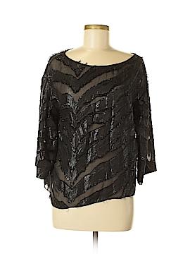 IRO Long Sleeve Silk Top Size 40 (FR)