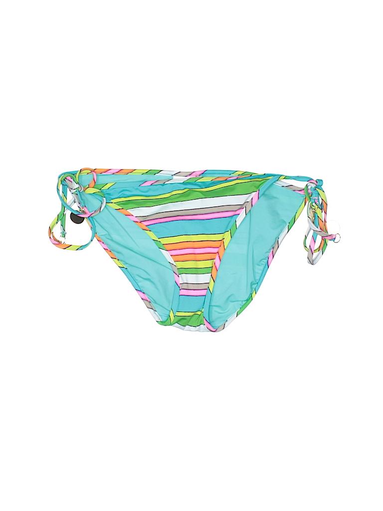 Trina Turk Stripes Green Swimsuit Bottoms Size 8 75 Off Thredup