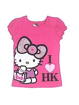 Hello Kitty Short Sleeve T-Shirt Size 6
