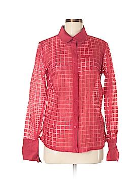 Wear It Long Sleeve Button-Down Shirt Size 0(4/6)