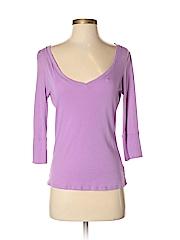 New York & Company Women 3/4 Sleeve T-Shirt Size S