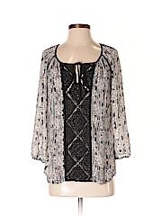 Meadow Rue Women 3/4 Sleeve Blouse Size XS