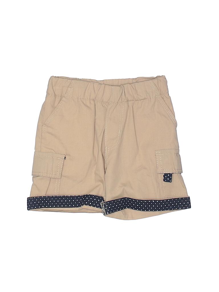 Pd&c Boys Khaki Shorts Size 12 mo