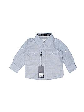 Pd&c Long Sleeve Button-Down Shirt Size 12 mo