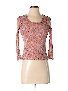 Sigrid Olsen 3/4 Sleeve T-Shirt Size P (Petite)