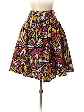 Petite Sophisticate Silk Skirt Size 2