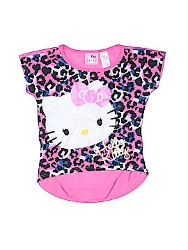 Hello Kitty Short Sleeve Top Size 4
