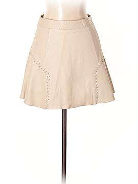 Trafaluc by Zara Leather Skirt Size 2