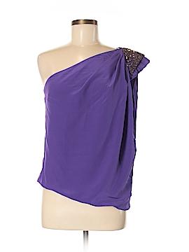 Robert Rodriguez Sleeveless Silk Top Size 6
