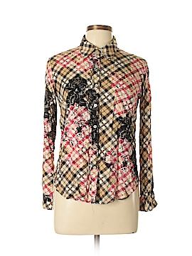 WAYF Long Sleeve Button-Down Shirt Size XS