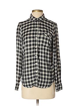 Lucky Brand Long Sleeve Button-Down Shirt Size XS