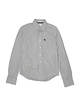 Abercrombie Long Sleeve Button-Down Shirt Size X-Large (Kids)