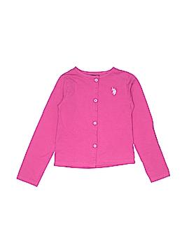 U.S. Polo Assn. Cardigan Size 6