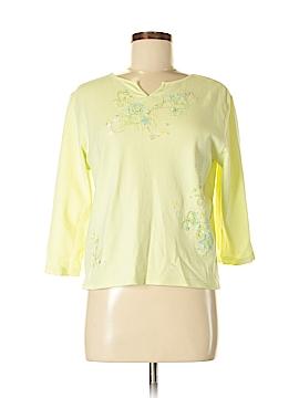Cappagallo 3/4 Sleeve T-Shirt Size M