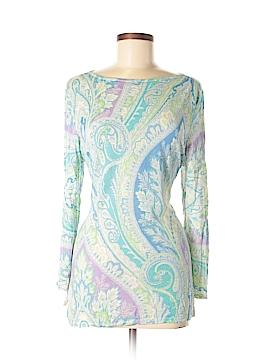 Lauren by Ralph Lauren Long Sleeve Silk Top Size XL