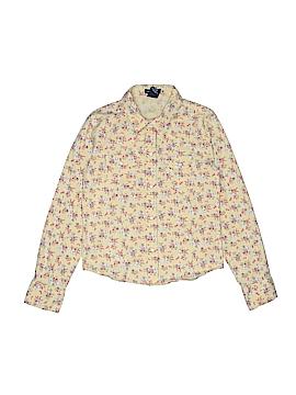 Gap Kids Long Sleeve Button-Down Shirt Size 7 - 8