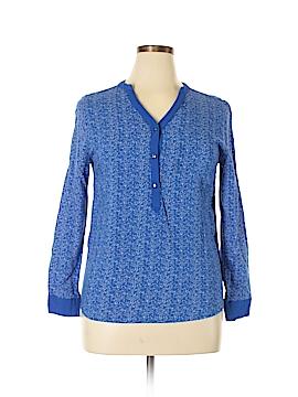 Violet & Claire Long Sleeve Blouse Size L
