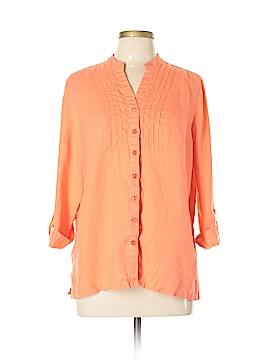 Kim Rogers 3/4 Sleeve Blouse Size L
