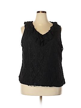 Rafaella Sleeveless Blouse Size 3X (Plus)
