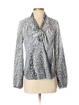Etcetera Long Sleeve Button-Down Shirt Size 4