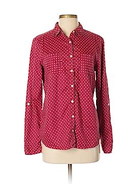 Caslon Long Sleeve Button-Down Shirt Size S
