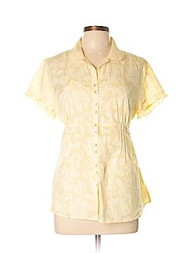 Steena Short Sleeve Button-Down Shirt Size L
