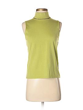 Josephine Chaus Sleeveless Silk Top Size S