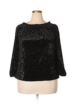 Focus 3/4 Sleeve Blouse Size 1X (Plus)